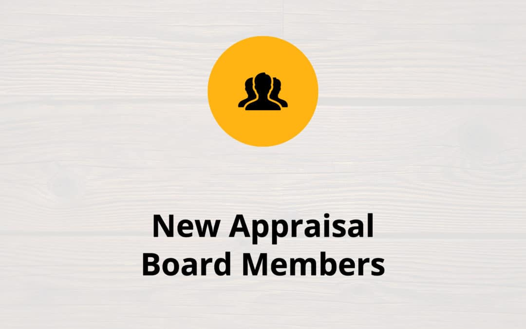 New North Carolina Appraisal Board Members