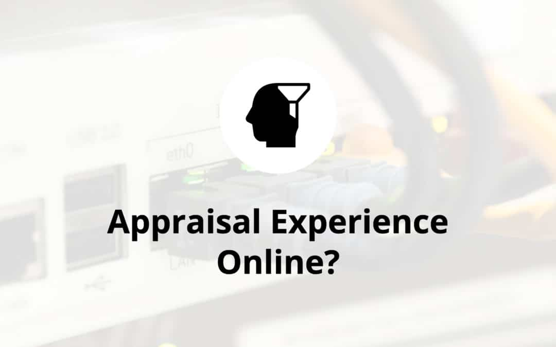 Appraisal Experience Online?