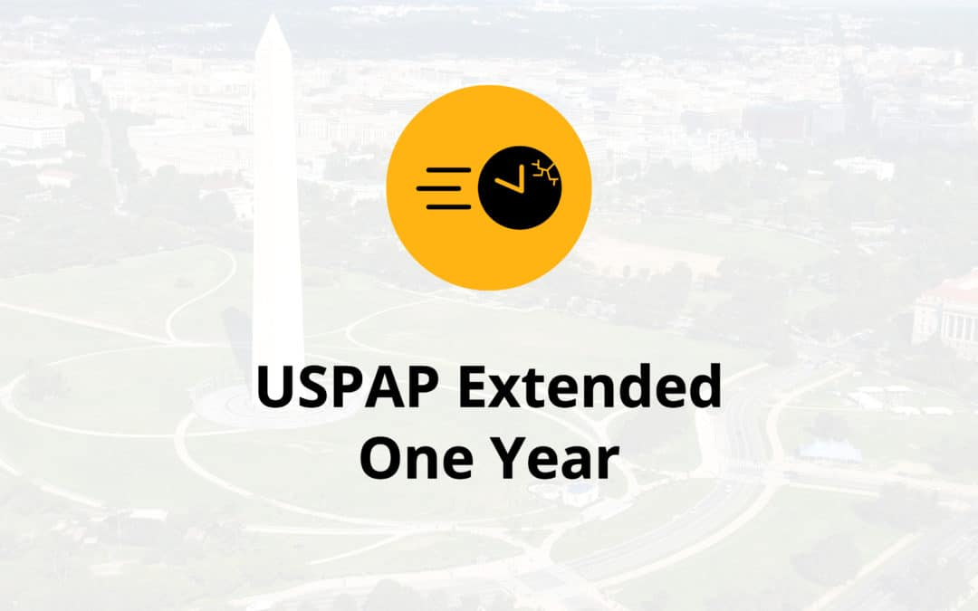 USPAP Extended One Year